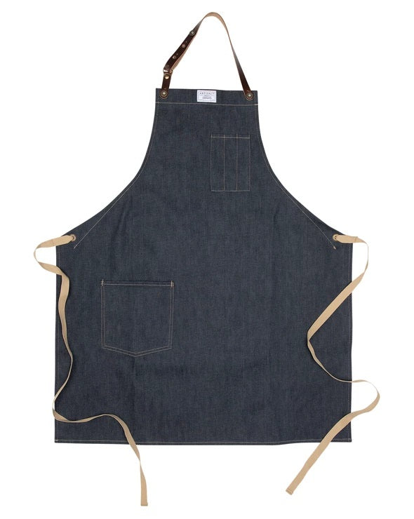 Apron, Denim Universal Fit - Kitchen Apron - Provisions, LLC
