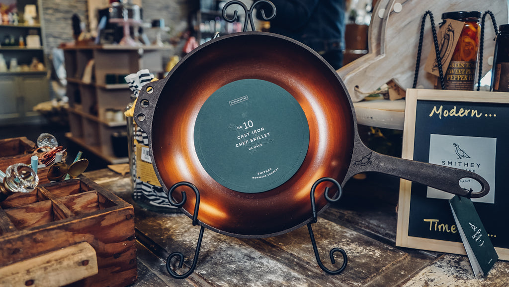 Smithey Ironware Cast Iron Chef Skillet - Provisions, LLC