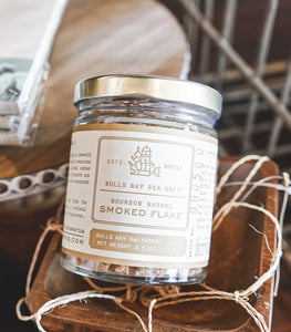 Bulls Bay Saltworks - Bourbon Barrel Smoked Flake - Provisions, LLC