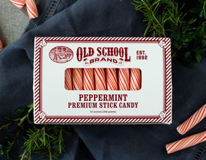 Old School Brand Peppermint Stick Candy - Provisions, LLC