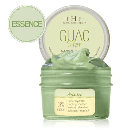 Guac Star® Soothing Avocado Hydration Mask - 3oz Jar - Provisions Mercantile