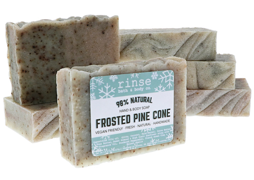 Frosted Pine Cone Bar Soap - Provisions, LLC