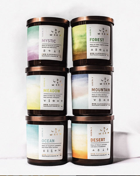 Elder & Co Guides Candle Collection - Provisions, LLC