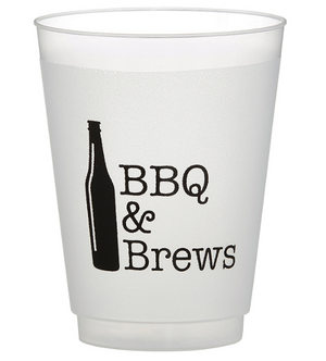 BBQ & Brews Beer Frost Cups - Provisions, LLC