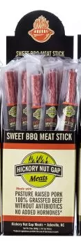 Meat Beef Sticks - Sweet BBQ - Hickory Nut Gap - Provisions, LLC
