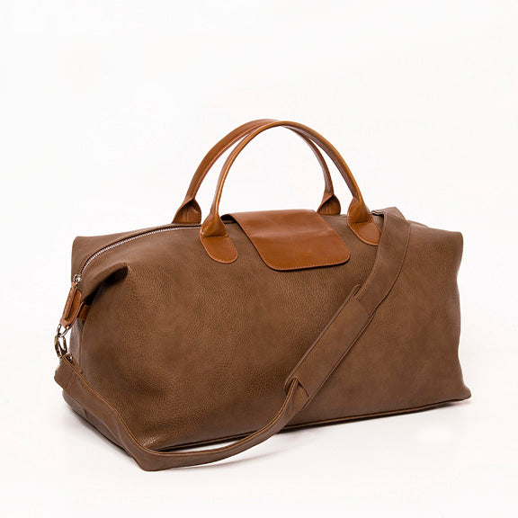 Men's Alpha Leather Duffel Bag - Provisions, LLC