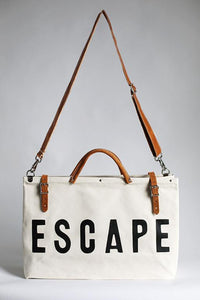 Forestbound ESCAPE Canvas Bag with Strap - Provisions Mercantile