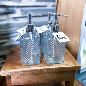 Embossed Hobnail Soap Dispenser - Provisions, LLC