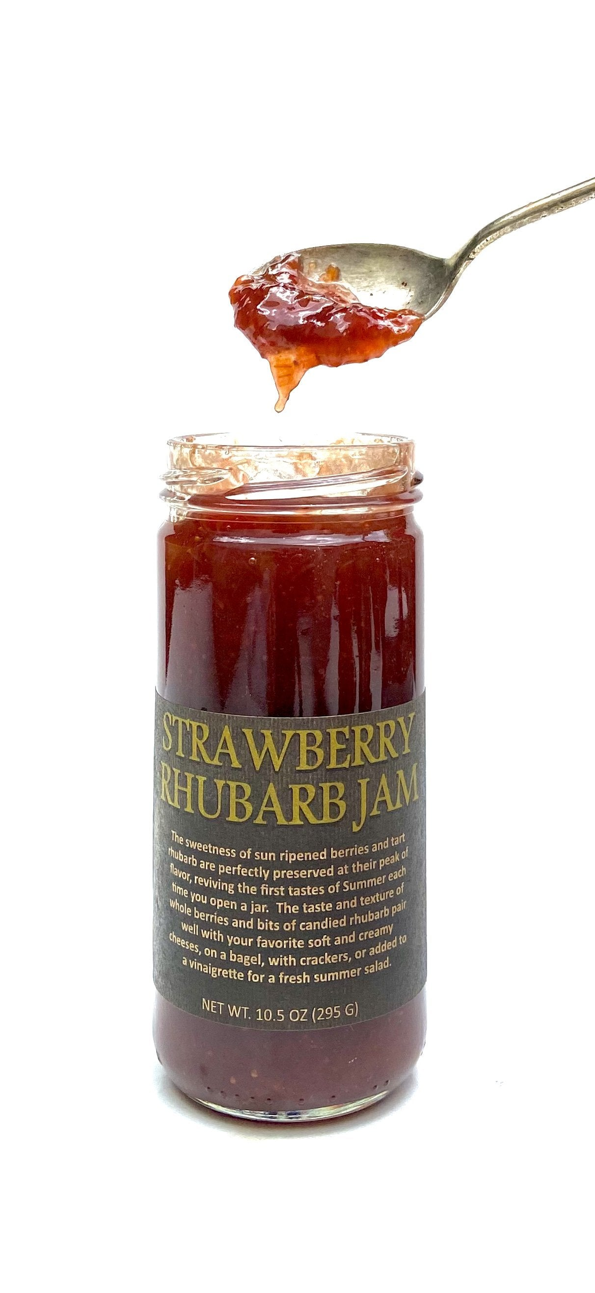 Strawberry Rhubarb Jam - Copper Pot & Wooden Spoon - Provisions, LLC