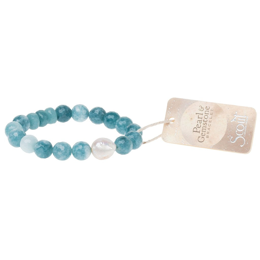 Scout Pearl & Gemstone Bracelet - Provisions, LLC