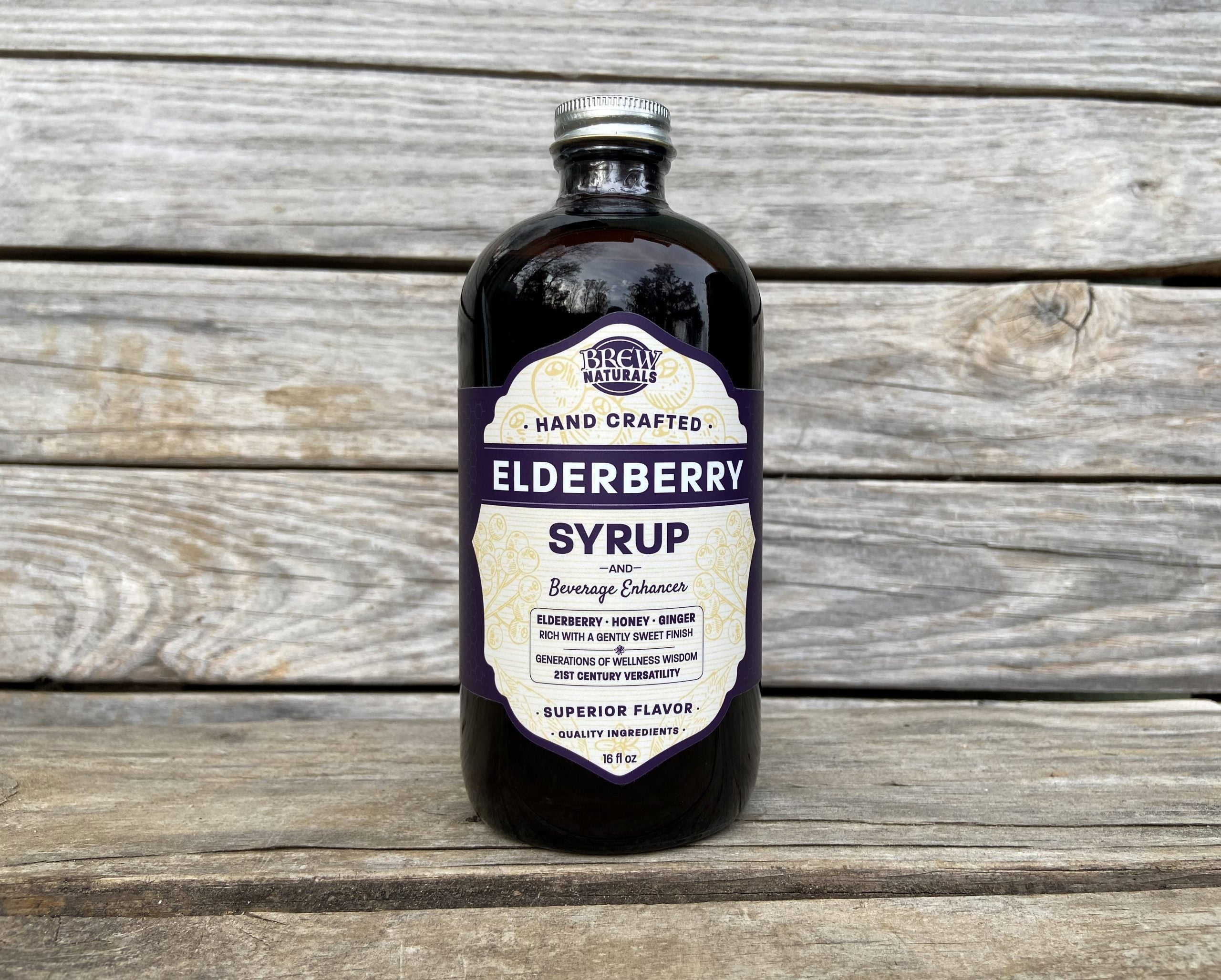 Brew Naturals Elderberry Syrup & Beverage Enhancer - Provisions, LLC