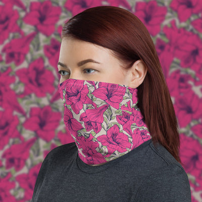 Floral Face Shield