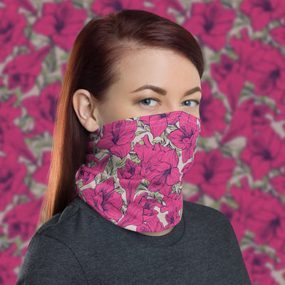 Floral Face Cover