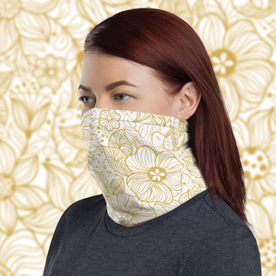 Flowered Face Shield