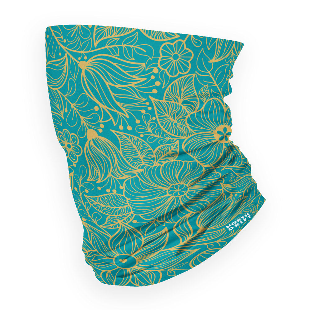 Flowered Neck Gaiter