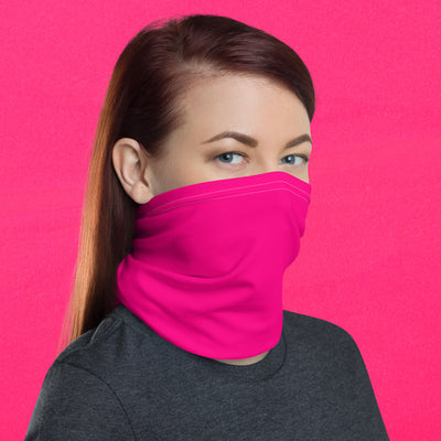 Hot Pink Face Shield