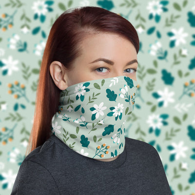 Wild Flowers Face Cover