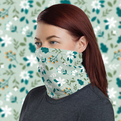 Wild Flowers Face Shield