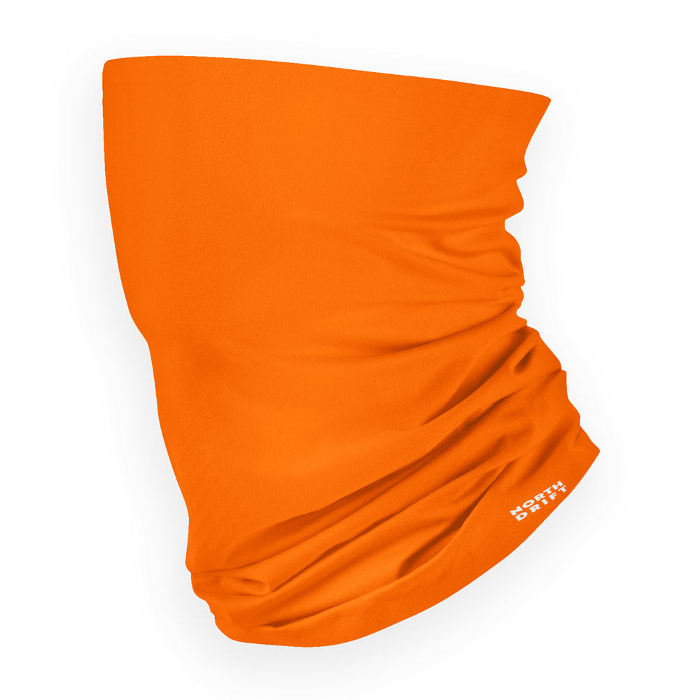 Orange Neck Gaiter