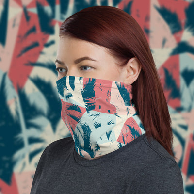 Palm Trees Face Cover