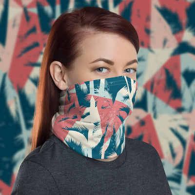 Palm Trees Face Shield