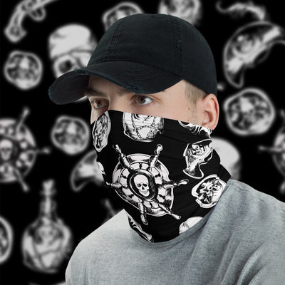 Pirate Face Cover