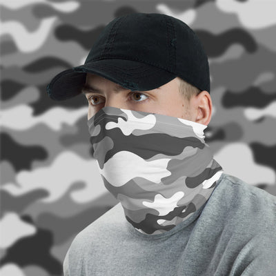 White Camo Face Shield