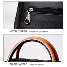 Load image into Gallery viewer, Dual-use Leather Backpack & Handbag
