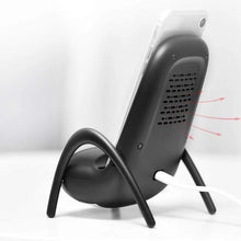 Load image into Gallery viewer, Multi-function Chair Shape Loudspeaker & Wireless Fast Charging