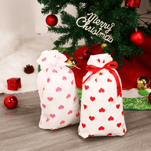 Load image into Gallery viewer, Drawstring Christmas Gift Bags(50 pcs)