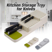Load image into Gallery viewer, Kitchen Storage Tray for Knives