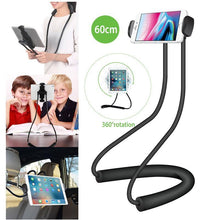 Load image into Gallery viewer, Lazy Neck Phone & Tablet Holder