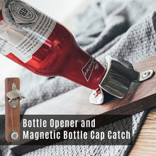 Load image into Gallery viewer, Bottle Opener and Magnetic Bottle Cap Catch