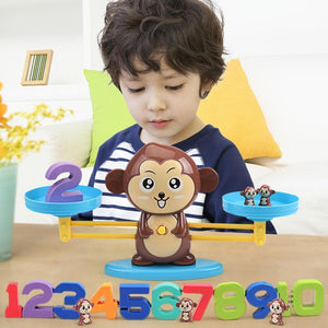 Monkey Balance Cool Math Game for Kids