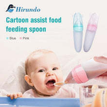 Load image into Gallery viewer, Hirundo® Squirt Baby Food Dispensing Spoon