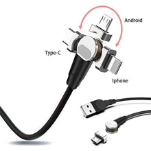 Load image into Gallery viewer, 180 rotation Magnetic Charging Cable