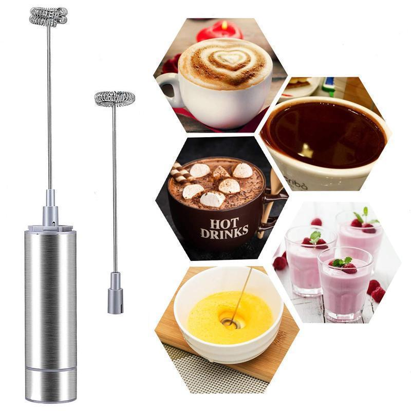 Electric Powerful Handheld Milk Frother