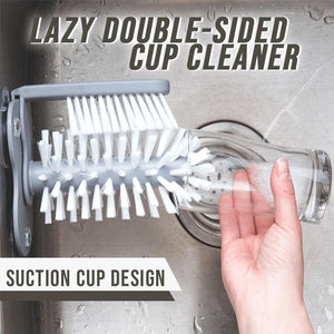 Both-Sided Cup Cleaner