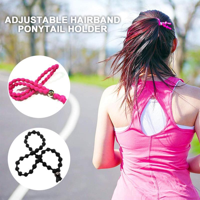 Adjustable Hairband Ponytail Holder