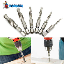 Load image into Gallery viewer, Domom® Metric Tap Drill Bits 6PCS (M3 - M10)
