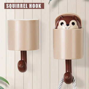 Magic Cute Squirrel Hook