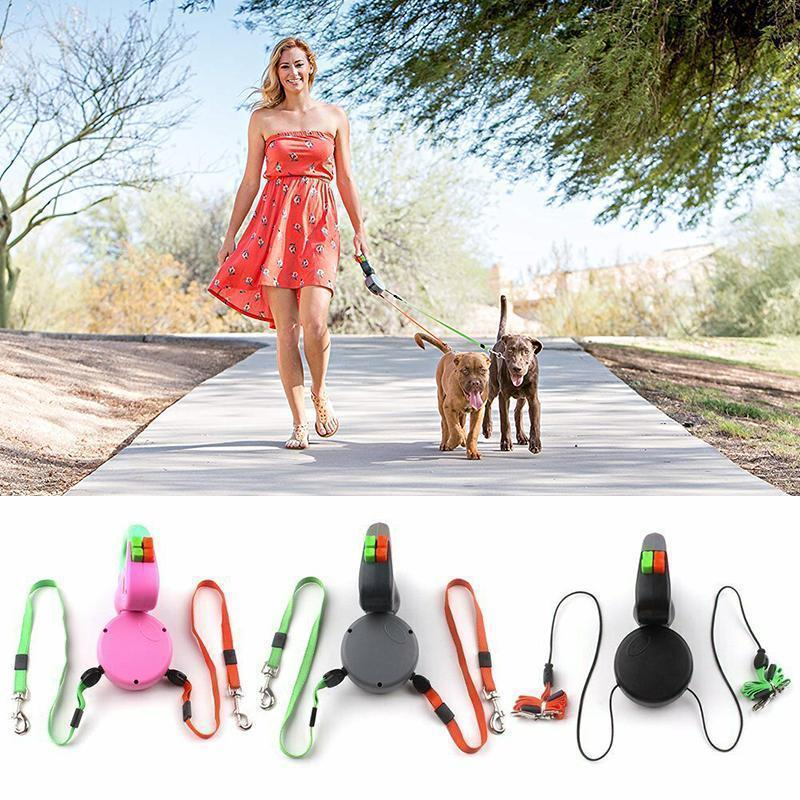 Dog Leash For Two Dogs