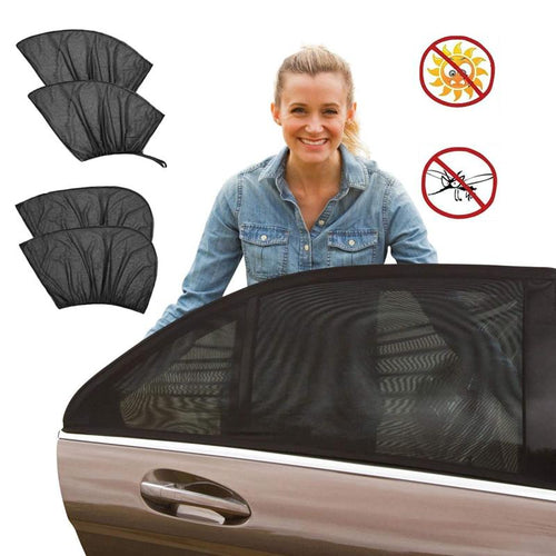 Automotive sunscreen thermal curtain