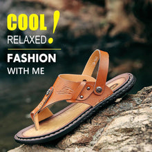 Load image into Gallery viewer, Men Leisure Dual-use Flip-flops Sandals
