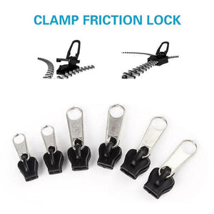 Fix Zip Puller, 6 pieces