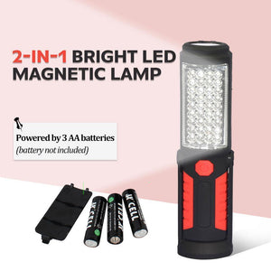 2-in-1 Bright LED Magnetic Lamp