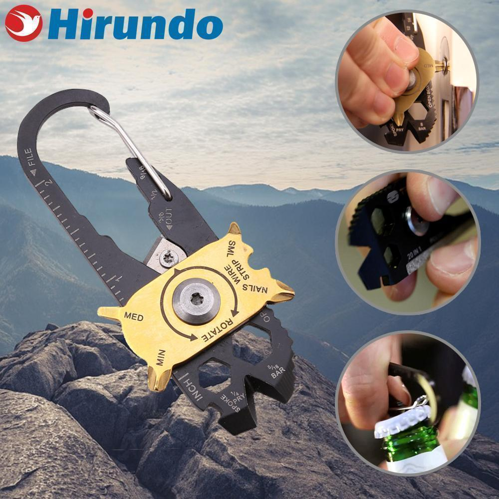 Hirundo Fish-shape Portable Tool with 20 Multi-gadgets