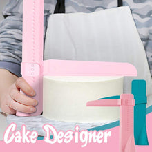Load image into Gallery viewer, Adjustable Cake Cream Scraper
