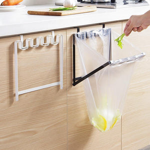 Hanging Metal Trash Bag Holder