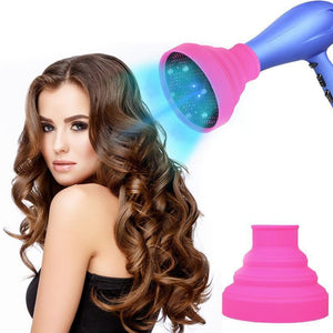 Frizz Less Curls Hair Dryer Diffuser